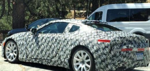 Lexus LC Coupe, ходовой образец, 2015 год