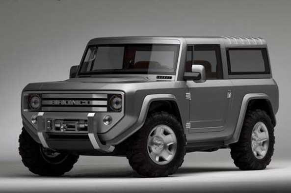 Ford Bronco-2015, концепт-кар