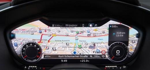 Автомобили Audi с виртуальным кокпитом, 2015-2016 годы