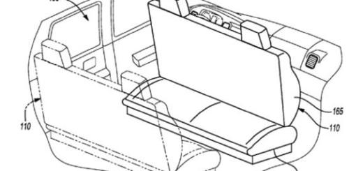 Трансформируемые сиденья, разработка Ford