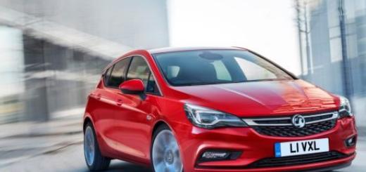Vauxhall Astra, 2016 модельный год