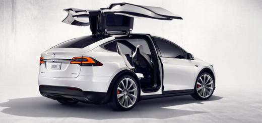 Tesla Model X-2015