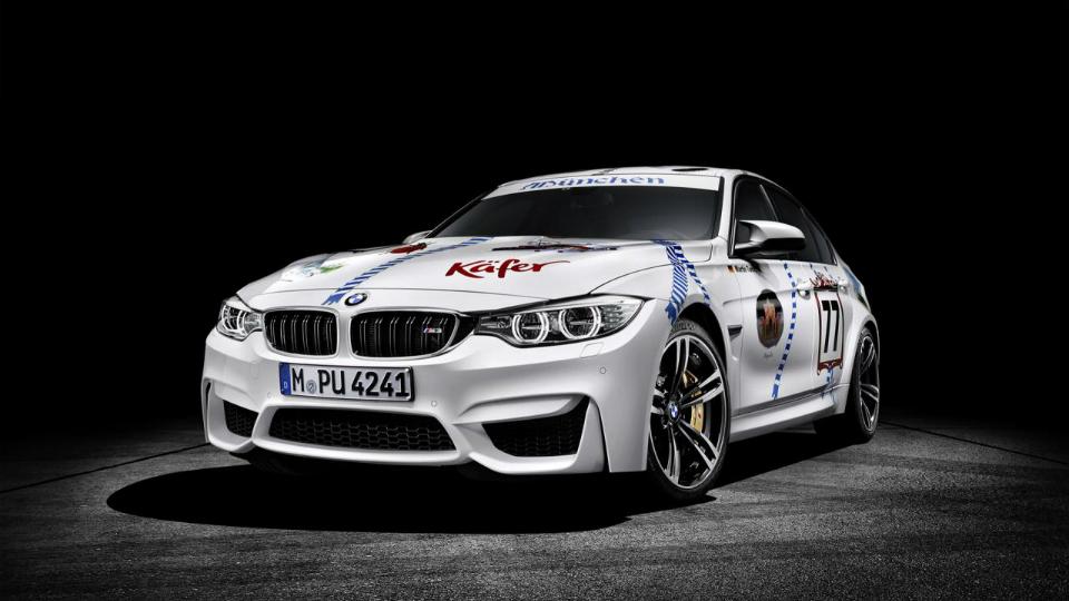 Седан BMW M3 Munchner Wirte