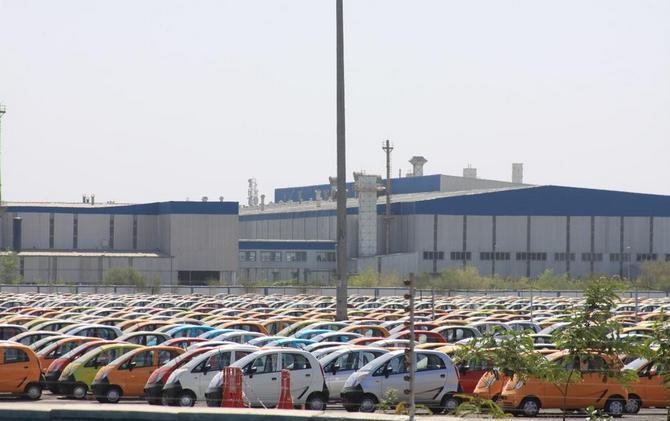 Завод Tata Motors, город Сананд