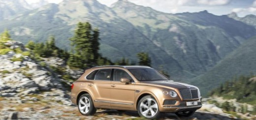 Bentley Bentayga, Франкфурт-2015