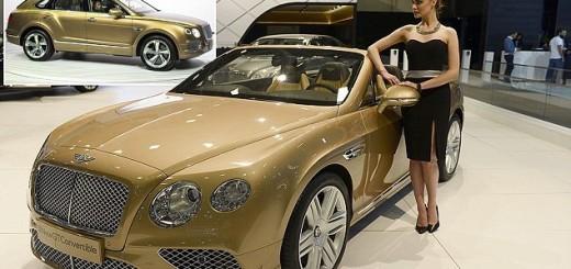 Bentley Bentayga, первый кроссовер Bentley