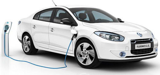 Fluence ZE, электрический автомобиль Renault