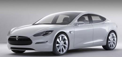 Электромобиль-седан Tesla S