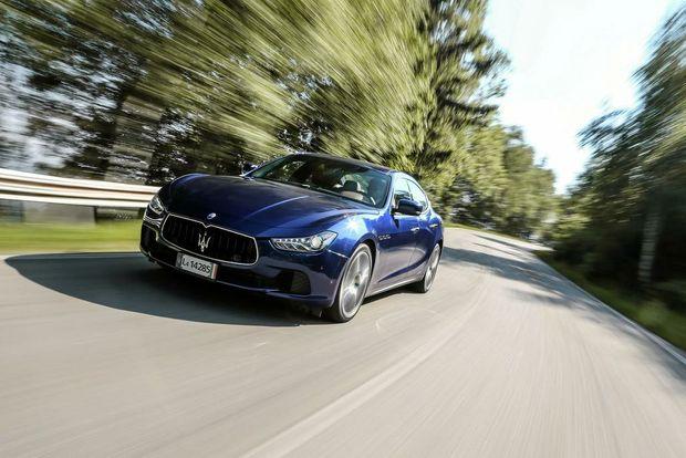 Maserati Ghibli, спорт-купе, 2015 год