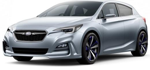 Subaru 5-Door Concept, 2015 год