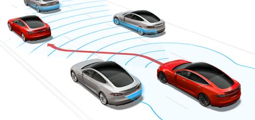 Опция Tesla Autopilot