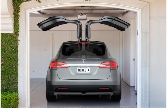 Tesla Model X, 29.09.2015