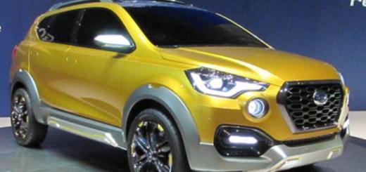 GO-Cross, концепт кроссовера Datsun, 2015 год