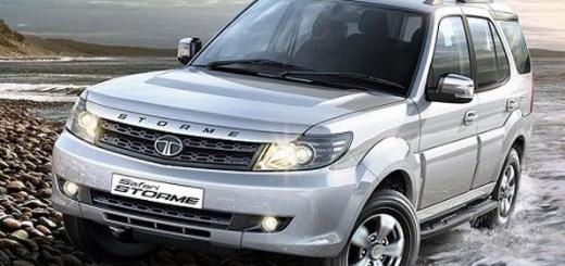 Tata Safari, рестайлинг 2015 года