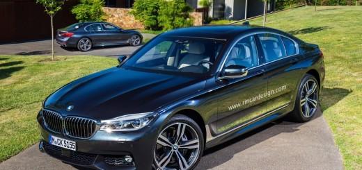BMW X5-2016, 3D-рендер
