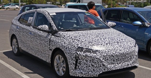 Хэтчбек Hyundai AE, шпионское фото