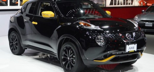 Nissan Juke, вариант исполнения Stinger Black