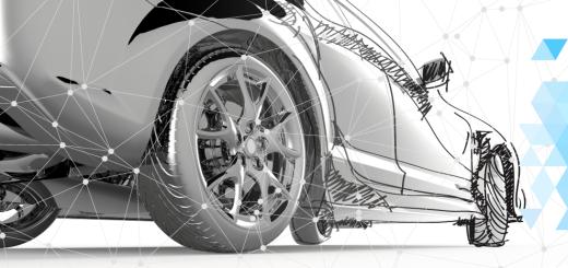 Иллюстрация к технологии Connected Car