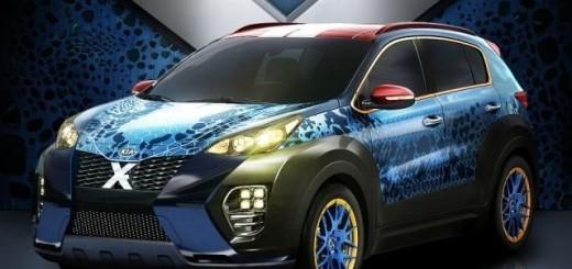Kia Sportage-2017, стиль X-Men