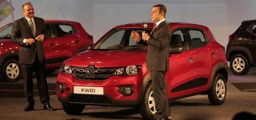 Презентация Renault Kwid, 2015 год