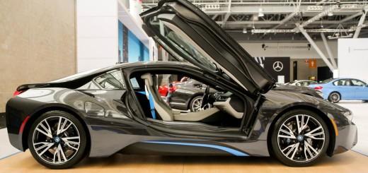 BMW i8, гибридный спорткар