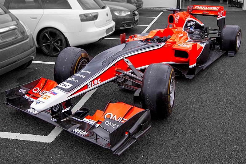 Marussia MR02, болид «Формулы-1»