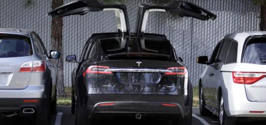 Tesla Model X, модель 2015 года