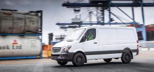Модель Sprinter Worker, бренд Mercedes-Benz, 2016 год