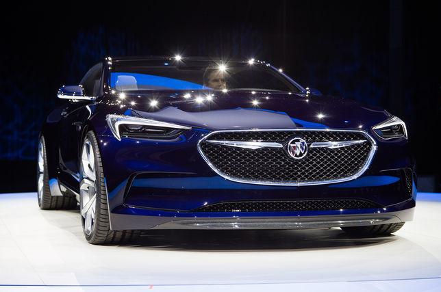 Buick Avista Coupe – 2016, концепт