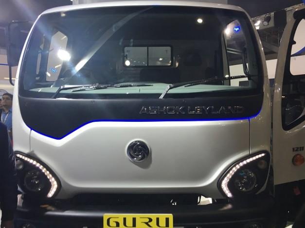 Концепт GURU, первый грузовик Ashok Leyland, 2016 год