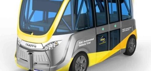 Роботизированный автобус, Австралия, 2016 год