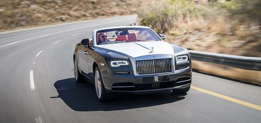 Rolls-Royce Dawn, 2016 год, тест-драйв