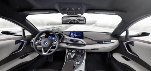 Интерьер BMW i8
