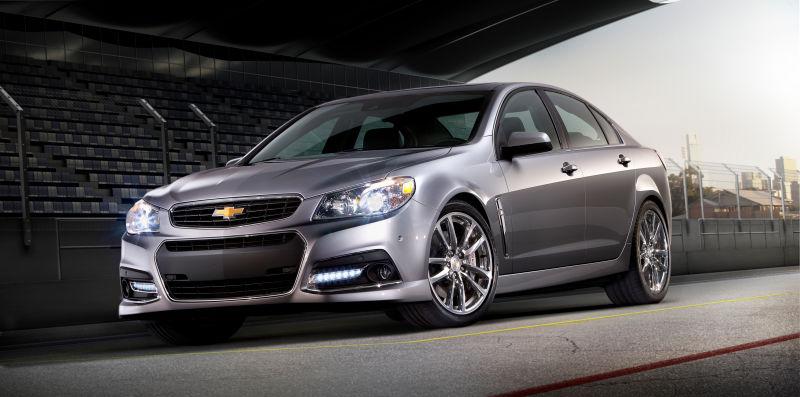 Chevrolet SS, 2016 год