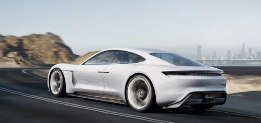 Porsche Mission E, концепт