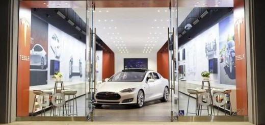 Tesla Model S, спортивный седан
