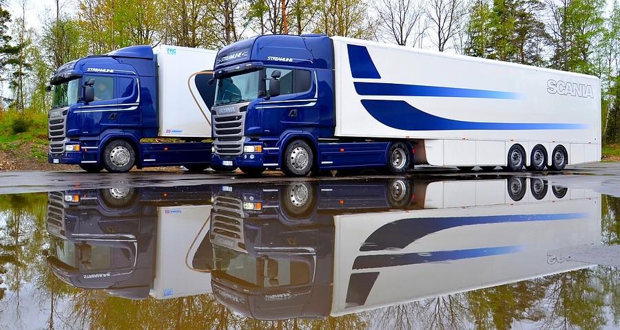 Сёдельные тягачи фирмы Scania, 2016 год