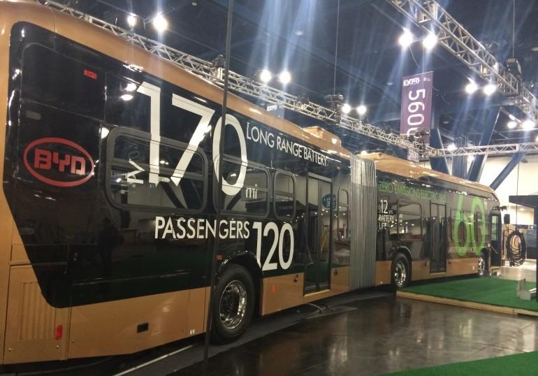 Автобус-электромобиль BYD