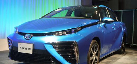 Toyota Mirai, 2016 год