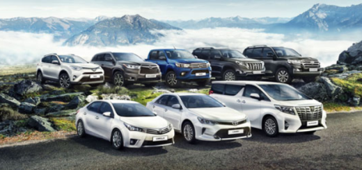 Модельный ряд автомобилей Toyota, 2016 год