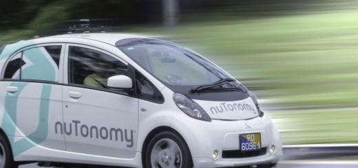Беспилотный электромобиль NuTonomy