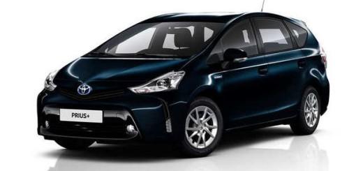 Prius+, бренд Toyota, 2016 год