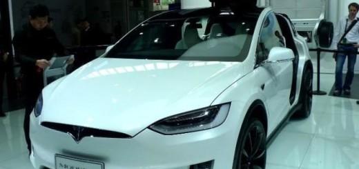Tesla Model X, вариант Red Signature