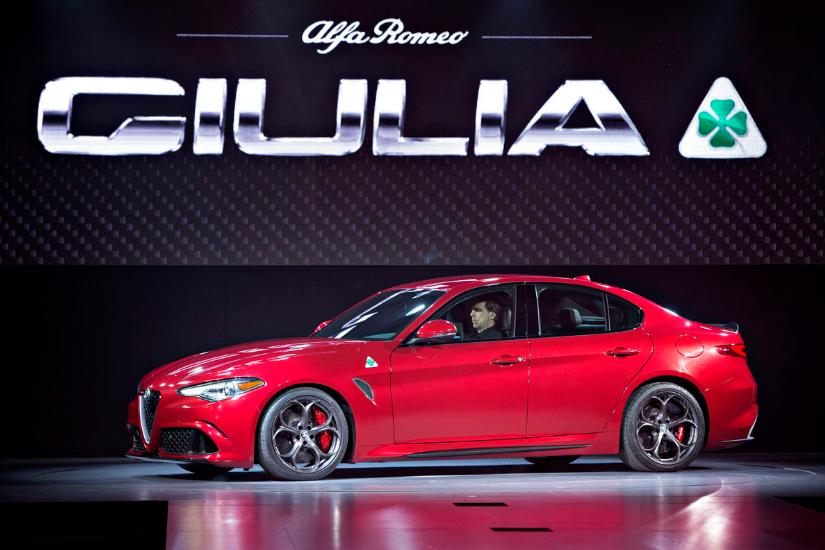 Alfa Romeo Giulia, комплектация Quadrifoglio