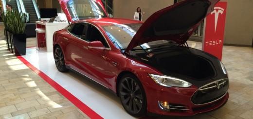 Киоск Tesla в парке Питтсбург Росс