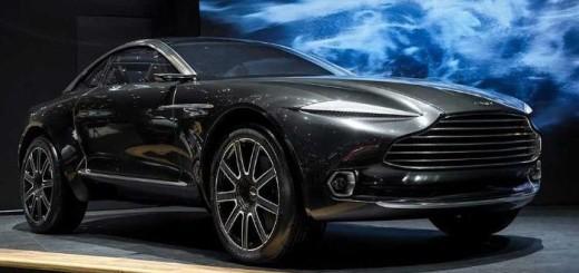 Aston Martin DBX, 2016 год