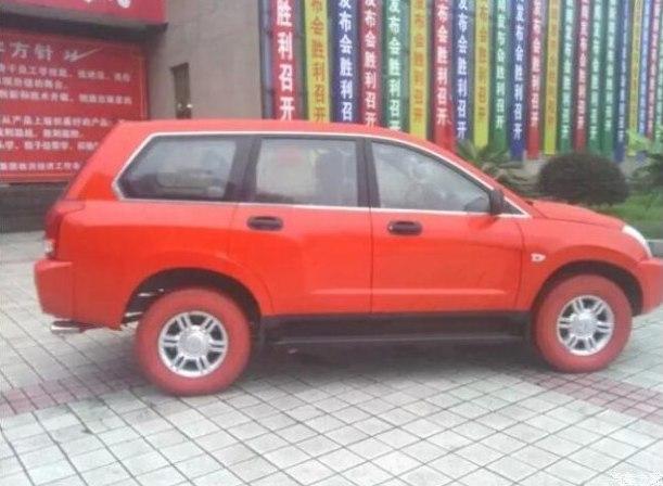 Нанесение цвета на покрышки в Китае, 2016 год