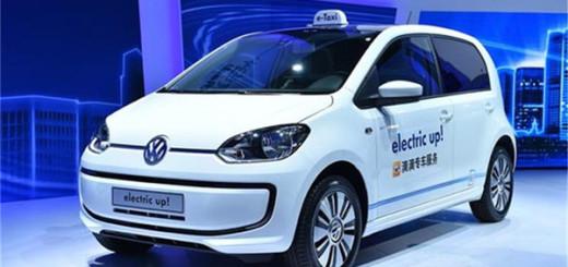 Volkswagen e-Up, электромобиль
