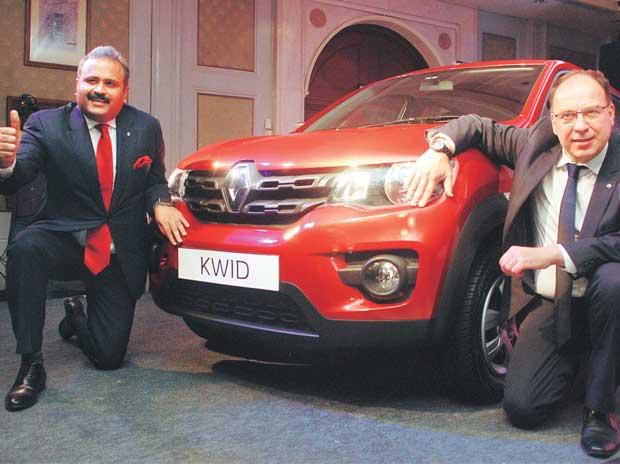 Renault Kwid, мотор 1,0 л