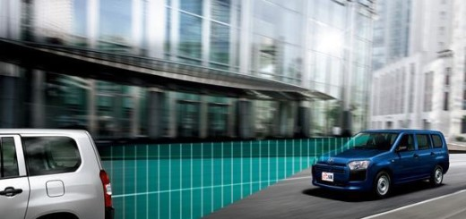 Toyota Probox с опцией Safety Sense